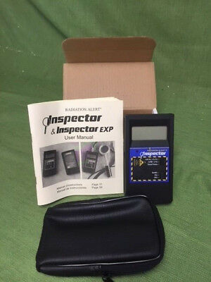 Radiation Alert Inspector WITH CountsPro, Transfer All Your Counts to the Cloud