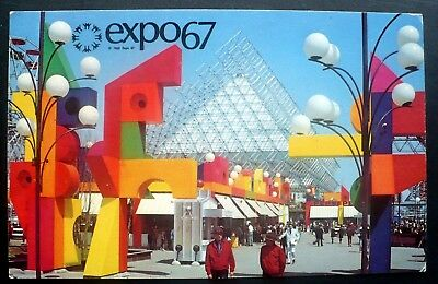 1967 La Ronde Amusement & Entertainment Park, Expo 67, Montreal, Canada