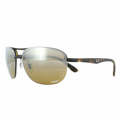 Ray Ban Sunglasses Rb4275ch 894 A2 Tortoise Brown Mirror Polarized