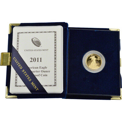 2011-W American Gold Eagle Proof (1/4 oz) $10 in OGP