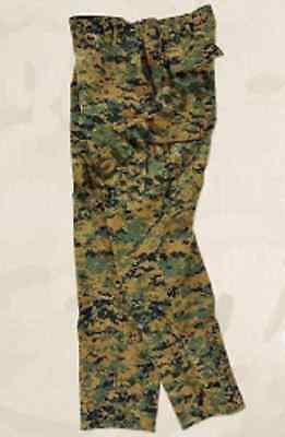 Helikon Tex US MARINE CORPS USMC DIGITAL ARMY WOODLAND PANTS TROUSERS FIELD LR