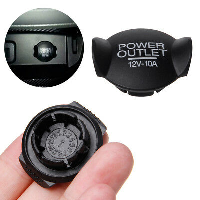 Car Power 12V Socket Lighter Cigarette Cover Outlet For Ford Focus Fiesta Mondeo
