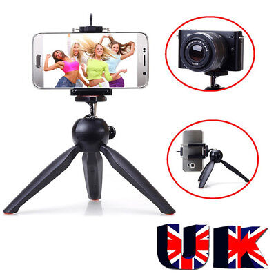 #Mini Small Universal Tabletop Handheld Tripod Compact Digital Camera DSLR Stand