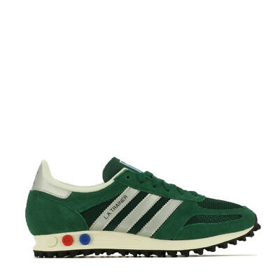 Adidas La Trainer Og Sneaker Uomo BY9325 Cgreen Msilve Cblack