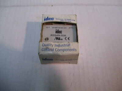 New Idec Rssan-50A 50A 48-660Vac 90-280Vac Signal Solid State Relay  P2113