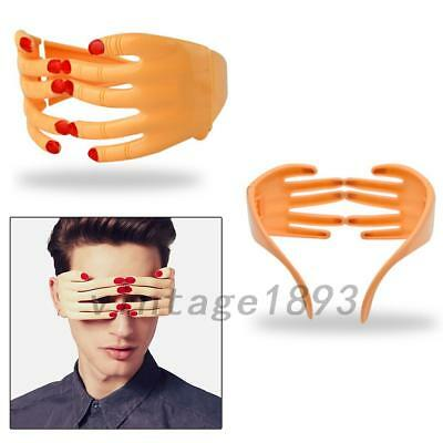 Halloween Funny Finger Glasses Eye Mask Hands Men Prop Party Costume Eyewear 1PC