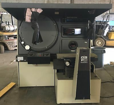 Opg Optical Gauging Products Model Q30S 0Q30S Optical Comparator