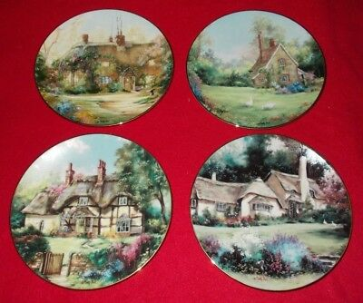 English Country Cottages Hamilton Collectors Plates - Choose Individual Plate