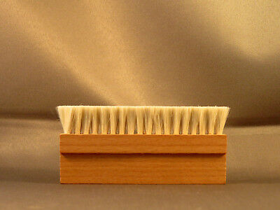 Wood Anti Static Goat Goat's Hair Record Brush Deep Cleaner Clean Vinyl Album