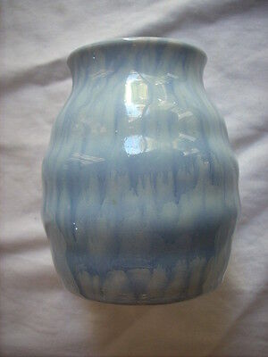 Bakewells Trent Art Ware Glazed Ribbed Vase Shape 477