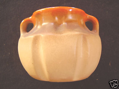 Bakewells Newtone Shape Glazed Double Handled Vase