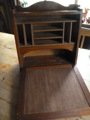 Small Vintage Portable Wooden Writing Desk