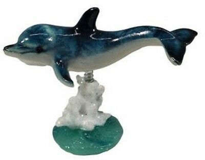 December Diamonds Dolphin with Coral Bobble Figurine Sea Life Decoration 4342016