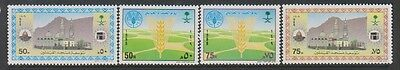 Saudi Arabia - 1988 World Food Day & Qiblataya Mosque sets - MNH - SG 1572/5