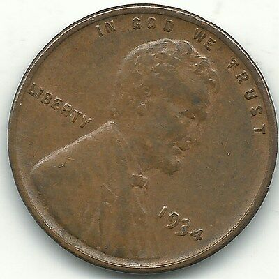 A Extra Fine Condition 1934 P Lincoln Cent-Old Us Coin-Sep188
