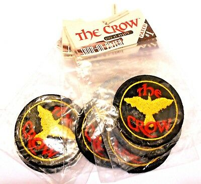 The Crow Lot Six Embroidered Patches Vintage City Of Angels Movie Lot 2""