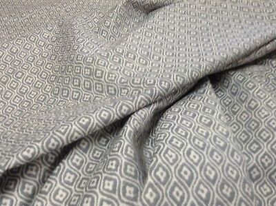 Farrow  Jacquard  Grey/White Curtain/Upholstery /Craft/Upholstery Fabric