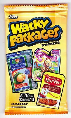 WACKY PACKAGES ALL-NEW SERIES 11 (Topps, 2013)--Unopened Pack (s)^