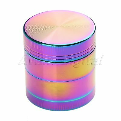 40MM 4 Layers Zinc Alloy Tobacco Crusher Hand Muller Leaf Smoke Herb Grinder
