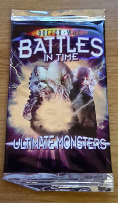 Doctor Who Battles In Time Ultimate Monsters Booster Pack - New & Sealed