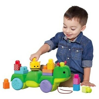 NEW Mega Bloks First Builders Move 'n Groove Discoveries Caterpillar