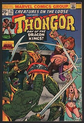 Creatures On The Loose #29 1974 Marvel Bronze Age Nice!