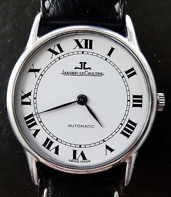 Jaeger LeCoultre Ultra Thin 5001.42 Cal.900 Vintage Automatic Luxury Watch 1980