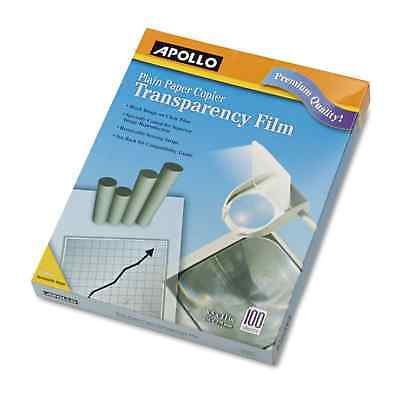 Apollo B/W Laser Transparency Film with Removable Sensing Stripe Letter Clear