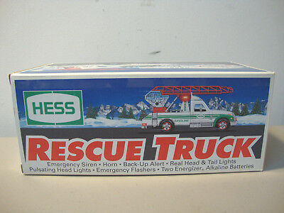 1994 *hess* Rescue Truck *mib*  *new In Box*  L@@k