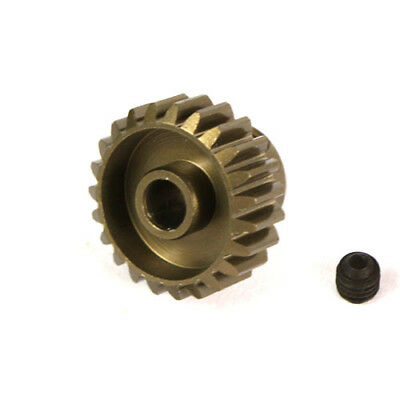 24T Titanium coated aluminium 48dp pinion gear for 1:10 RC  24 tooth 48 pitch.