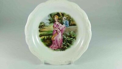 Queen Anne Romance Courting Couple Small Dish