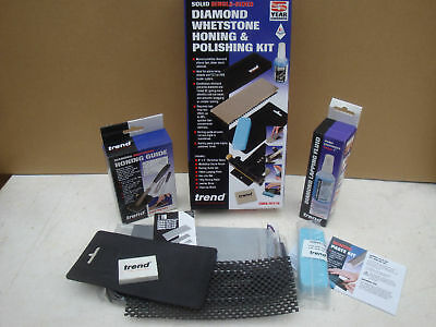 Trend Diamond Whetstone Polishing Sharpening & Honing Kit Dws/kit/b