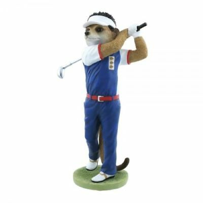 Country Artists Magnificent Meerkat Nick Golf Figurine Ornament CA04526