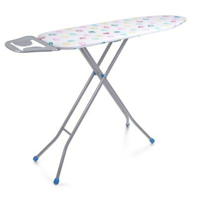Folding Metal Ironing Board Vibrant Modern Cover Iron Rack Non Slip Foldable New