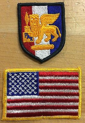 US Army Southern European Task Force USA Flag Flagge Uniform patch Aufnäher