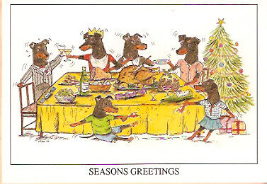Manchester Terrier Christmas Cards - Pack of 5
