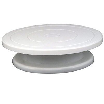 Accessotech 28cm Kitchen Cake Decorating Icing Rotating Turntable Cake Stand -