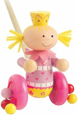 Orange Tree Toys Push Along Wooden Toy - Fairy