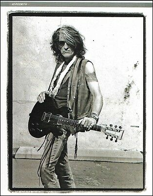 Aerosmith Joe Perry Gibson SG guitar 8 x 11 pin-up photo