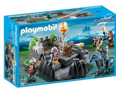 PLAYMOBIL Knights 6627 , Drachenritter-Bastion