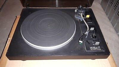 Lenco L-133 Giradischi Record Player Turnatable Revisionato Phono L133