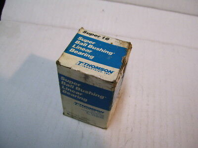 "New Thomson Super 16 1"" Ball Bearing Linear Bushing P2122"