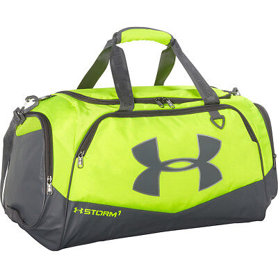 Under Armour Storm Undeniable II Duffle Bags -SMALL 41L Hi-Vis  Yellow Graphite 87385b4dc9