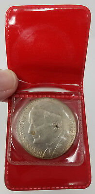 Pope John Paul II Joannes Pavlvs II Vatican Medal Coin in original holder RARE
