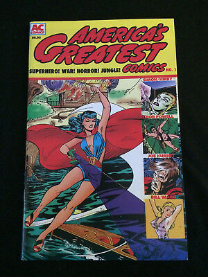 AMERICA'S GREATEST COMICS #1 Golden Age Reprints VF Condition