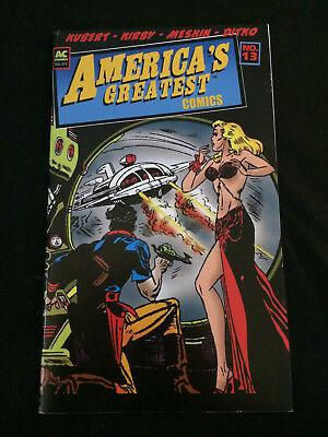 AMERICA'S GREATEST COMICS #13 Golden Age Reprints VF Condition