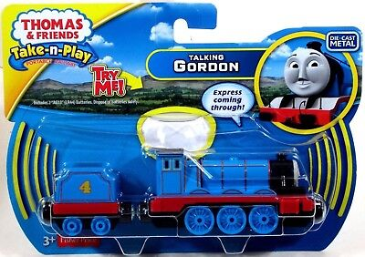 Fisher Price Thomas & Friends Take-n-Play TALKING GORDON die-cast engine! 99A5