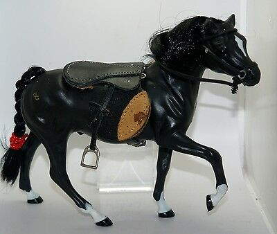 Grand Champions Very Early 1994 Stallion Black English Bridle Saddle No Circle