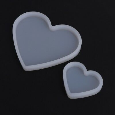 Silicone DIY Mold Heart Shape Epoxy Resin Mould Jewelry Making Crafts Decoration