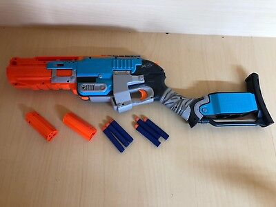 Nerf Zombie Strike Sledgefire Rare Excellent Condition Fully Working
